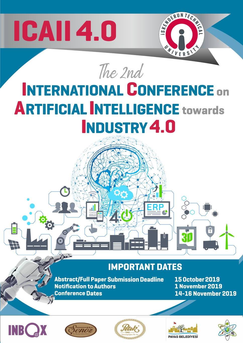 International Conference on Artificial Intelligence towards Industry 4.0 afişi